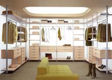 Внутри гардеробной